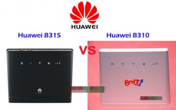 4G LTE WIFI роутеры Huawei B310 и Huawei B315: сравнение, основные функции и характеристики