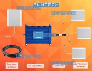 3G, UMTS, H+ комплект усилителя сотового сигнала Beeline, Ucell, UMS, Uzmobile на 3 комнаты