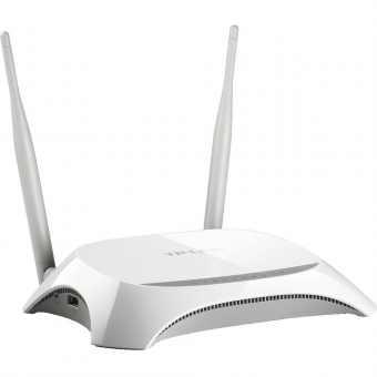 WI-FI роутер TP-Link TL-WR842N с поддержкой 3G/4G/LTE USB модемов
